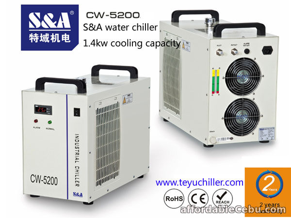 1st picture of S&A CW-5200 water chiller to cool turbomolecular pump For Sale in Cebu, Philippines