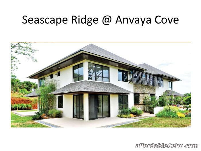 1st picture of FOR SALE SEASCAPE RIDGE AT ANVAYA COVE 2 BEDROOM For Sale in Cebu, Philippines
