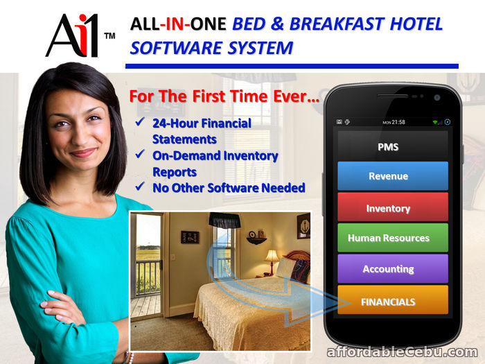 1st picture of Bed and Breakfast Hotel Software Philippines For Sale in Cebu, Philippines