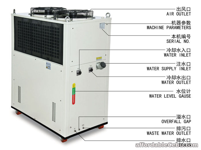 3rd picture of S&A Air-cooled water chiller for water-cooled computing server For Sale in Cebu, Philippines