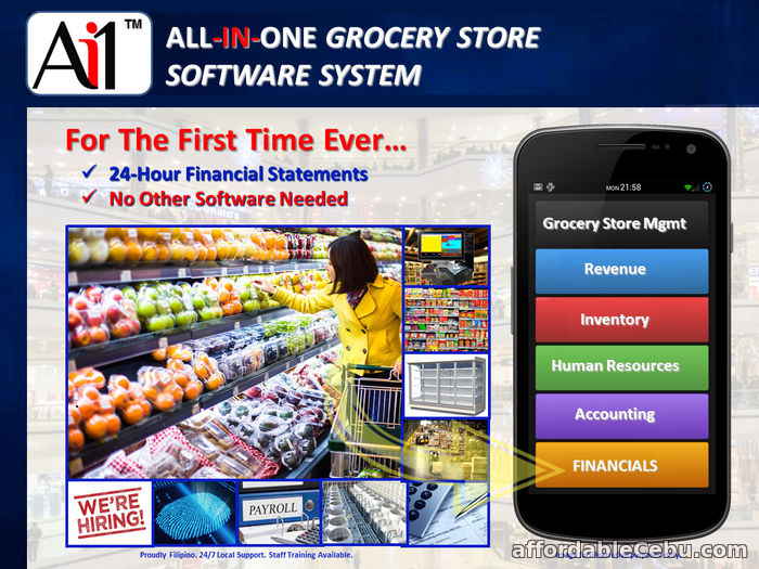 1st picture of Grocery Store Management Systems Software Philippines For Sale in Cebu, Philippines