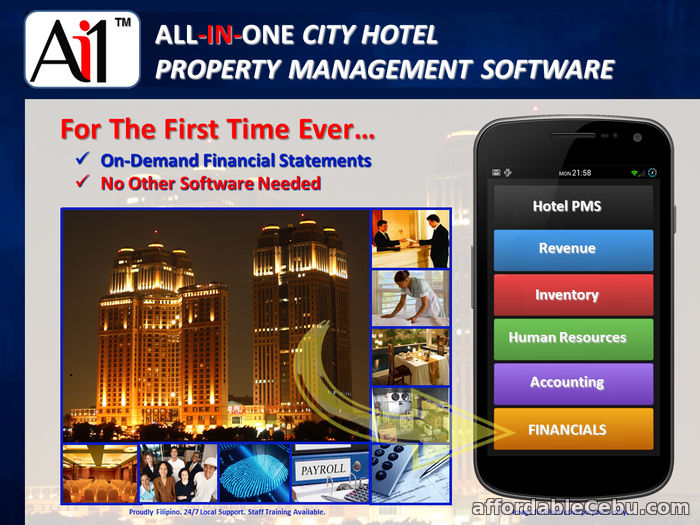 2nd picture of All-In-One City Hotel Management Software Philippines For Sale in Cebu, Philippines