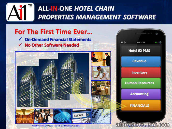 2nd picture of Hotel Chain Properties Management Software Philippines For Sale in Cebu, Philippines