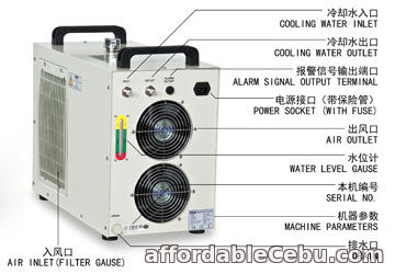 3rd picture of S&A CW-5200 water chiller to cool turbomolecular pump For Sale in Cebu, Philippines
