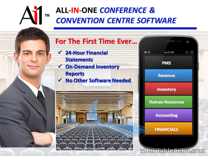 1st picture of Conference and Convention Centre Hotel Software Philippines For Sale in Cebu, Philippines
