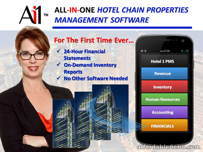 1st picture of Hotel Chain Properties Management Software Philippines For Sale in Cebu, Philippines