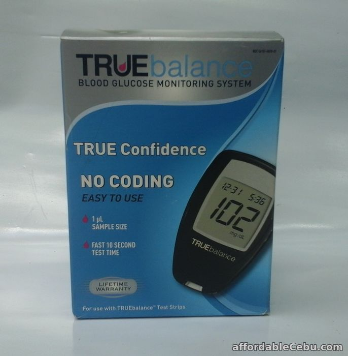 1st picture of GLUCOMETER USA MADE WITH 50 STRIPS For Sale in Cebu, Philippines