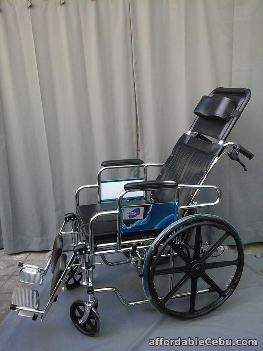 2nd picture of RECLINING COMMODE WHEELCHAIR For Sale in Cebu, Philippines