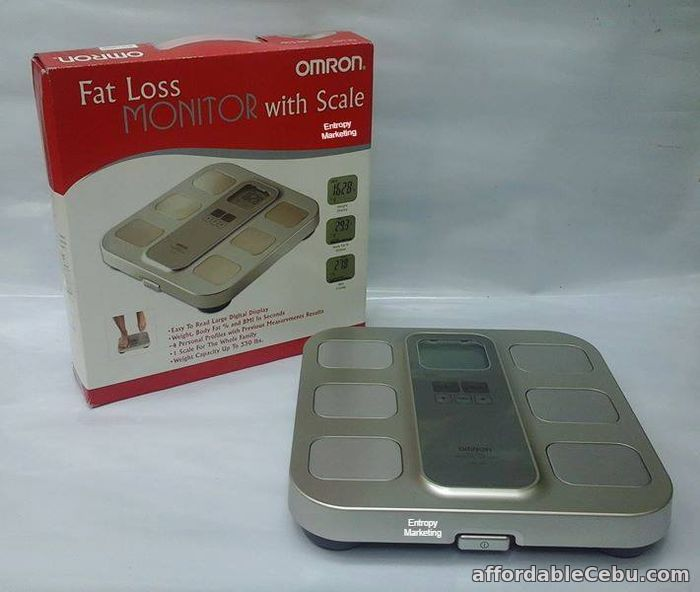 1st picture of OMRON BODY FAT DIGITAL WEIGHING SCALE STARTS AT For Sale in Cebu, Philippines