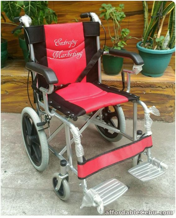 1st picture of TRAVEL LIGHT ALUMINUM WHEELCHAIR For Sale in Cebu, Philippines