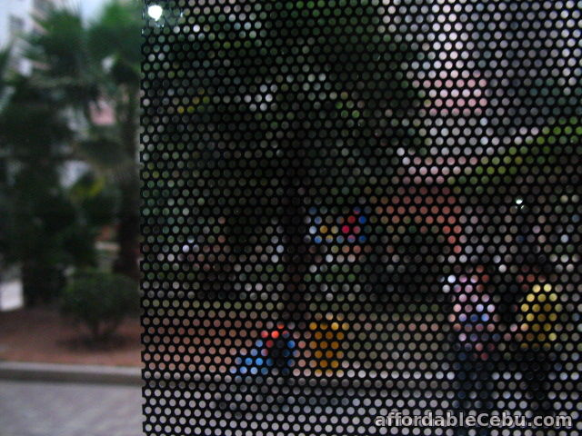 3rd picture of Perforated for adding privacy to your office,home,glass and etc. For Sale in Cebu, Philippines