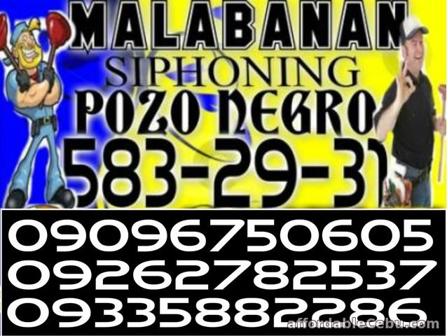 1st picture of malabanan cavite siphoning pozo negro services 09096750605 Offer in Cebu, Philippines