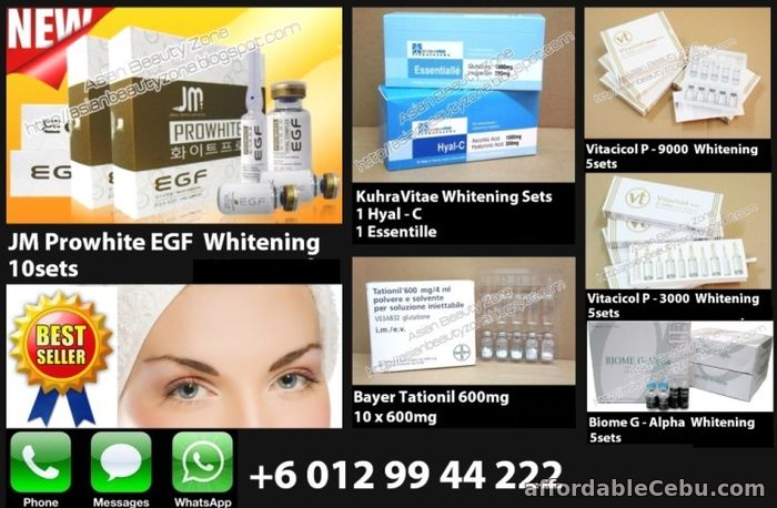 1st picture of Whitening Injection Promotion ~ Glutax, Prowhite, NC24, Aqua Skin For Sale in Cebu, Philippines