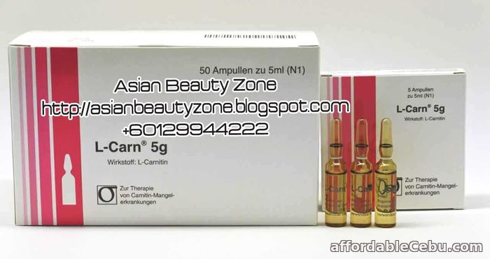 1st picture of L-Carnitine 5g Fat Burning Slimming Injection For Sale in Cebu, Philippines