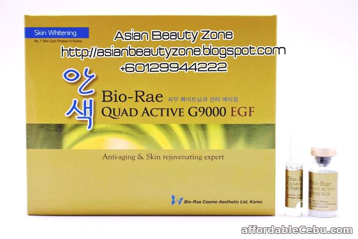 1st picture of BIO RAE QUAD ACTIVE G9000 EGF Whitening For Sale in Cebu, Philippines