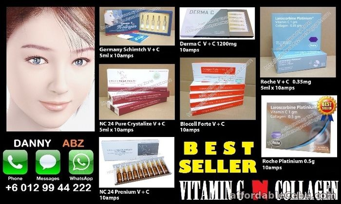 1st picture of Beauty Injection ~ Whitening, Vitamin C Collagen, Placenta For Sale in