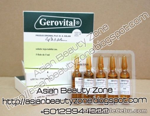 1st picture of Gerovital - Non Placenta Anti Aging For Sale in Cebu, Philippines
