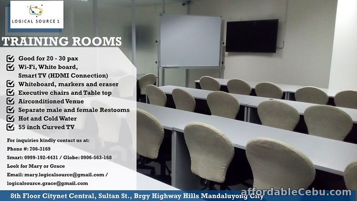 1st picture of Training/Seminar Room for Rent For Rent in Cebu, Philippines