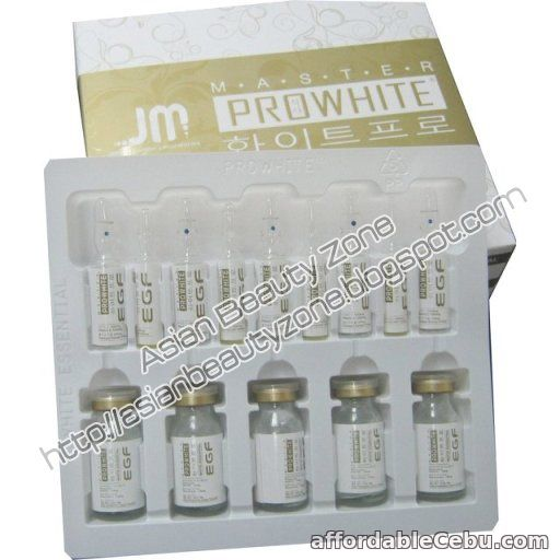 1st picture of Master Prowhite EGF Whitening For Sale in Cebu, Philippines