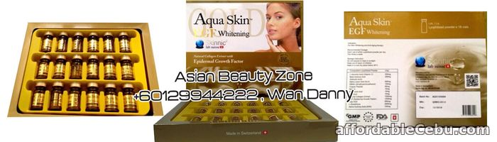 1st picture of Aqua Skin Gold EGF For Sale in Cebu, Philippines