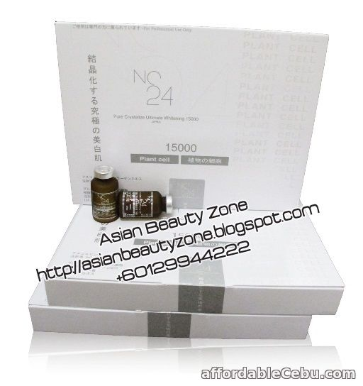 1st picture of NC24 Pure Crystalize Ultimate Whitening 15000mg For Sale in Cebu, Philippines