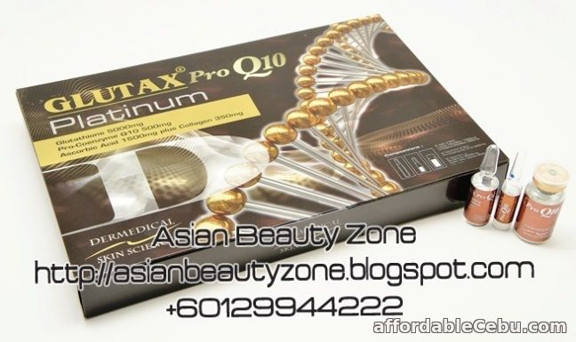 1st picture of Glutax Pro Q10 Platinum Whitening For Sale in Cebu, Philippines