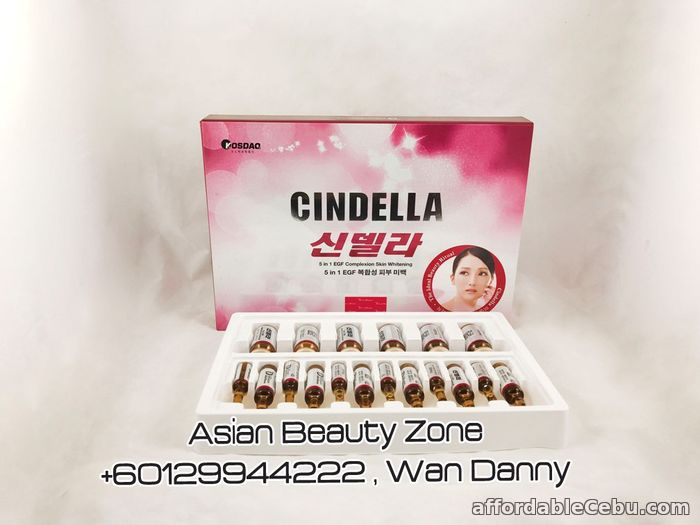 1st picture of CINDELLA 5 in 1 EGF Complexion Skin Whitening For Sale in Cebu, Philippines