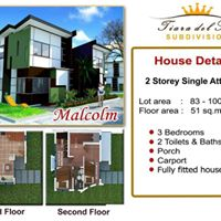 4th picture of House & Lot For Sale in Cebu TIARA DEL SUR Talisay City For Sale in Cebu, Philippines