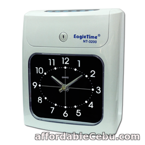 1st picture of EagleTime NT-3200 Bundy Clock Time and Attendance Recorder For Sale in Cebu, Philippines