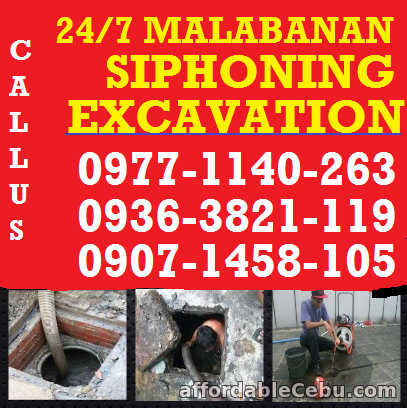 1st picture of JAM Malabanan Siphoning Waste Water plumbing Services 09771140263 Announcement in Cebu, Philippines