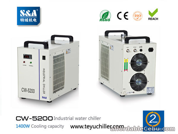 1st picture of S&A laser chiller CW-5200 with double input and output For Sale in Cebu, Philippines