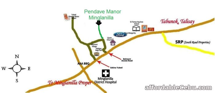 5th picture of Very affordable Lot for sale at Penndave Manor in Minglanilla For Sale in Cebu, Philippines