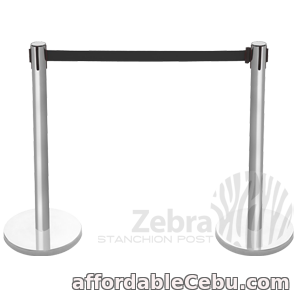 1st picture of Silver Stainless Crowd Control Barrier For Rent in Cebu, Philippines