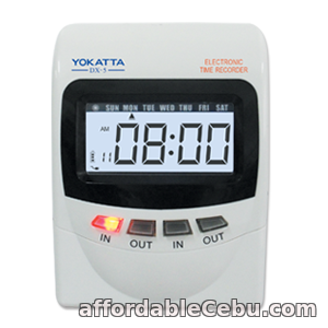 1st picture of YOKATTA DX-5 Bundy Clock w/ FREE 100 PCS. TIMECARD and 10 SLOTS TCR For Sale in Cebu, Philippines