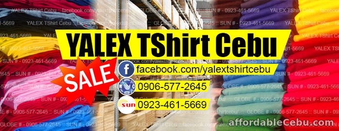 1st picture of Yalex Tshirt Cebu For Sale in Cebu, Philippines