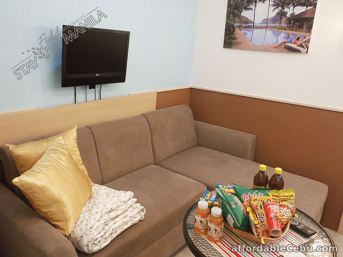 2nd picture of SM Field Residences 1 BR Manila Vacation Rental in Sucat Paranaque For Rent in Cebu, Philippines
