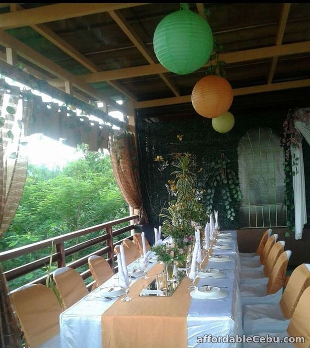 2nd picture of Private Garden Wedding Reception at the Rooftop with Food Package For Rent in Cebu, Philippines