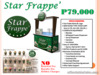 Star Frappe Food Cart Franchise Philippines