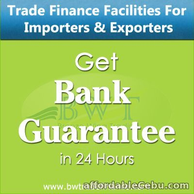 1st picture of Get Bank Guarantee – BG MT760 for Traders & Contractors Offer in Cebu, Philippines