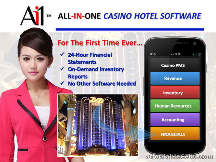 1st picture of Ai1 Casino Hotel PMS Software For Sale in Cebu, Philippines