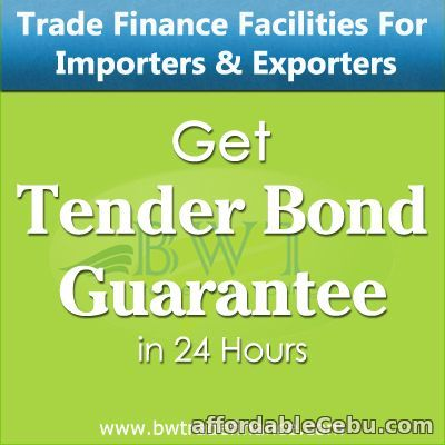 1st picture of Tender Bid – Tender Bond for Suppliers & Contractors Offer in Cebu, Philippines