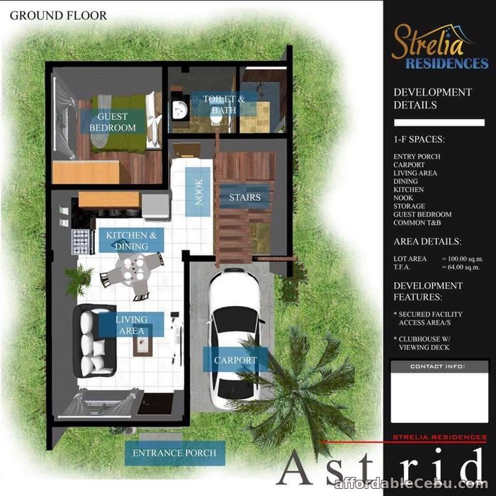 3rd picture of STRELIA RESIDENCES. House and Lot for sale For Sale in Cebu, Philippines