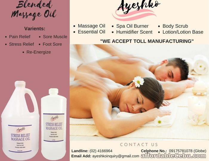2nd picture of SUPPLIER OF MASSAGE OIL & OTHER SPA PRODUCTS For Sale in Cebu, Philippines