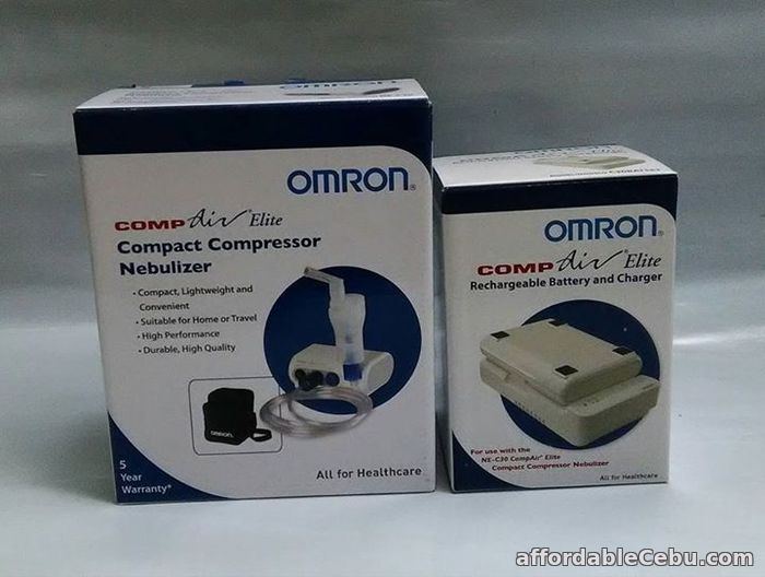3rd picture of NEBULIZER OMRON NEC 30 COMPACT DESIGN For Sale in Cebu, Philippines