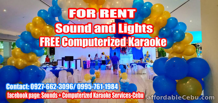 3rd picture of Sound System For Rent Lapu-Lapu City For Rent in Cebu, Philippines
