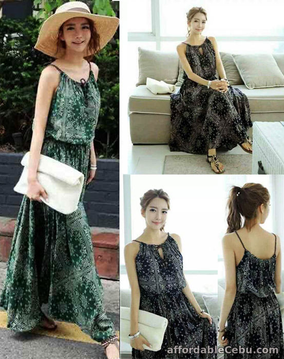 1st picture of Naevia Long Dress-330 For Sale in Cebu, Philippines
