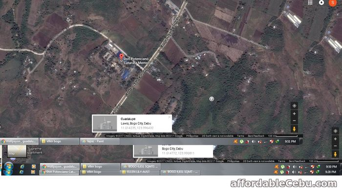 1st picture of 11hectares @280per sq.mt:Agri Lot :Located approximately 10km-15Km distance to Robinson & (SM Mall-about to commence) For Sale in Cebu, Philippines