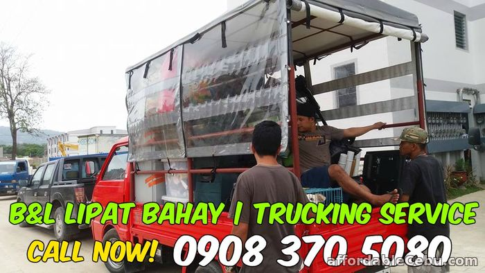 1st picture of B&L Cebu Lipat bahay Trucking Service RED Mazda Bongo Truck - 0908 370 5080 For Rent in Cebu, Philippines
