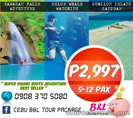 1st picture of PROMO CEBU DAY TOUR PACKAGE BEST SELLER! P2,997/HEAD - 09083705080 For Sale in Cebu, Philippines