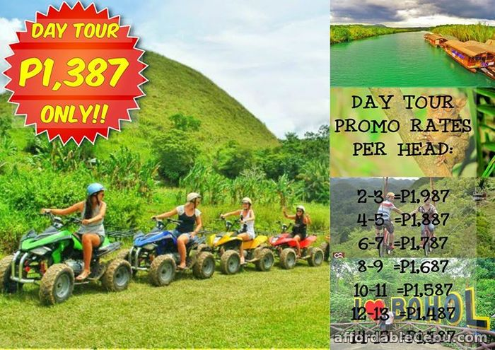 1st picture of PROMO BOHOL TOUR PACKAGE BEST SELLER!! P1,387/HEAD For Sale in Cebu, Philippines